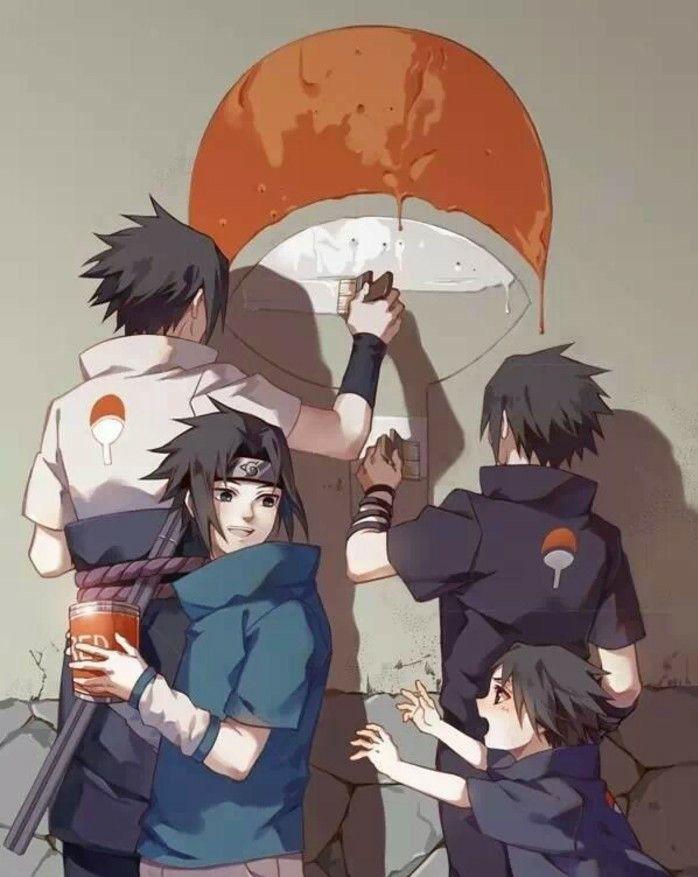 火影忍者:为什么宇智波家族要拿乒乓球拍做族徽?