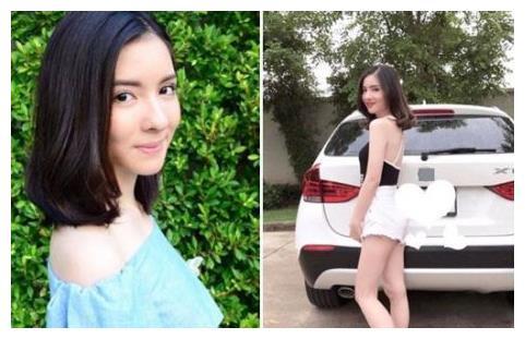 年轻女星开豪车遇车祸,死前边开车边玩自拍