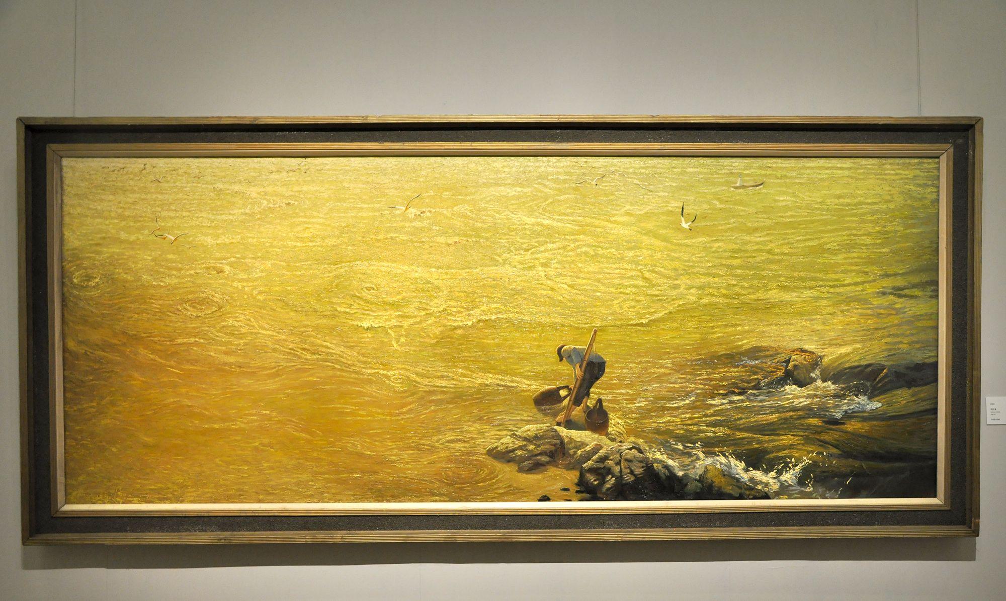 从长江走来——湖北优秀美术作品展,油画篇