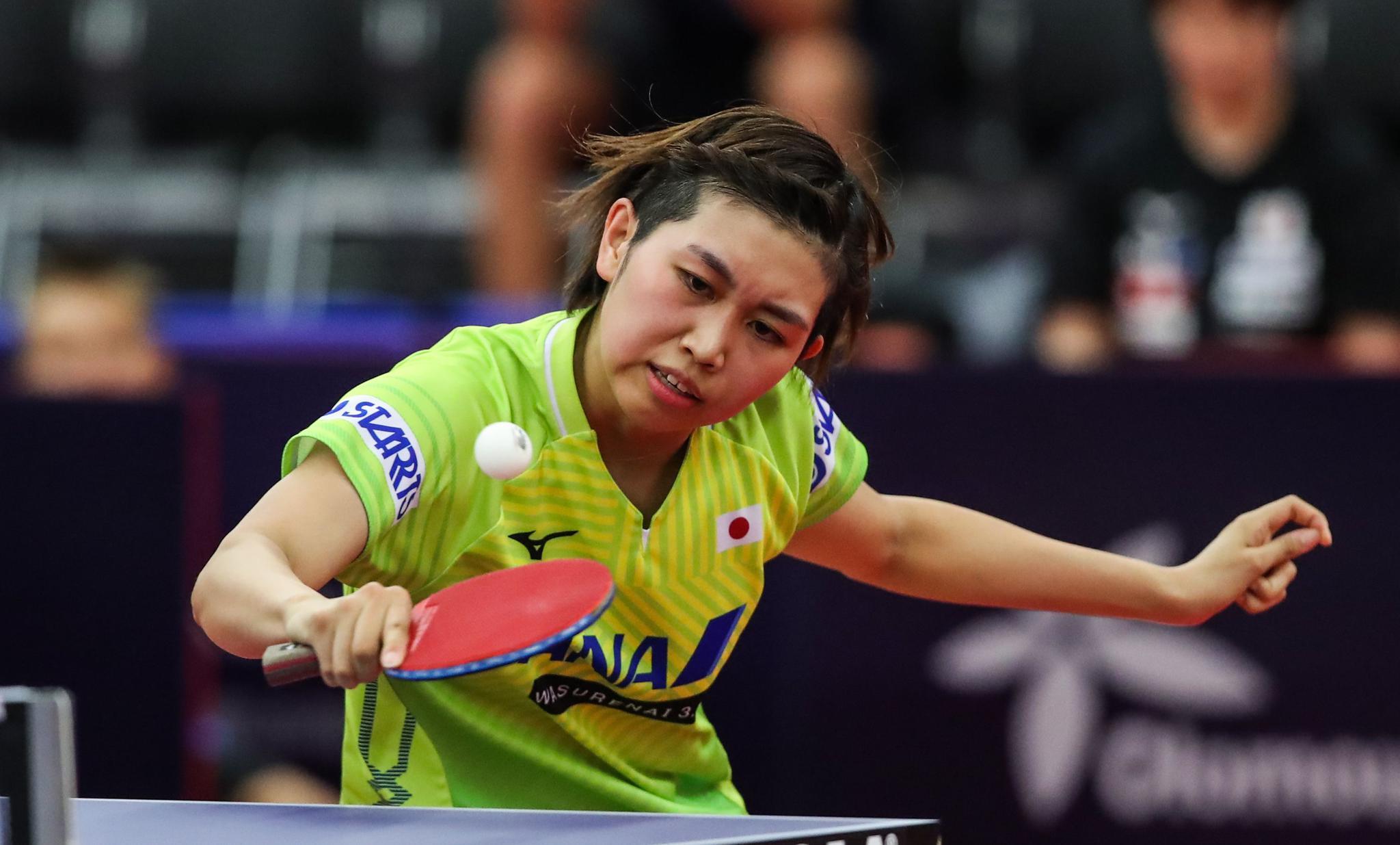 乒乓球——捷克公开赛:李佳燚无缘女单十六强