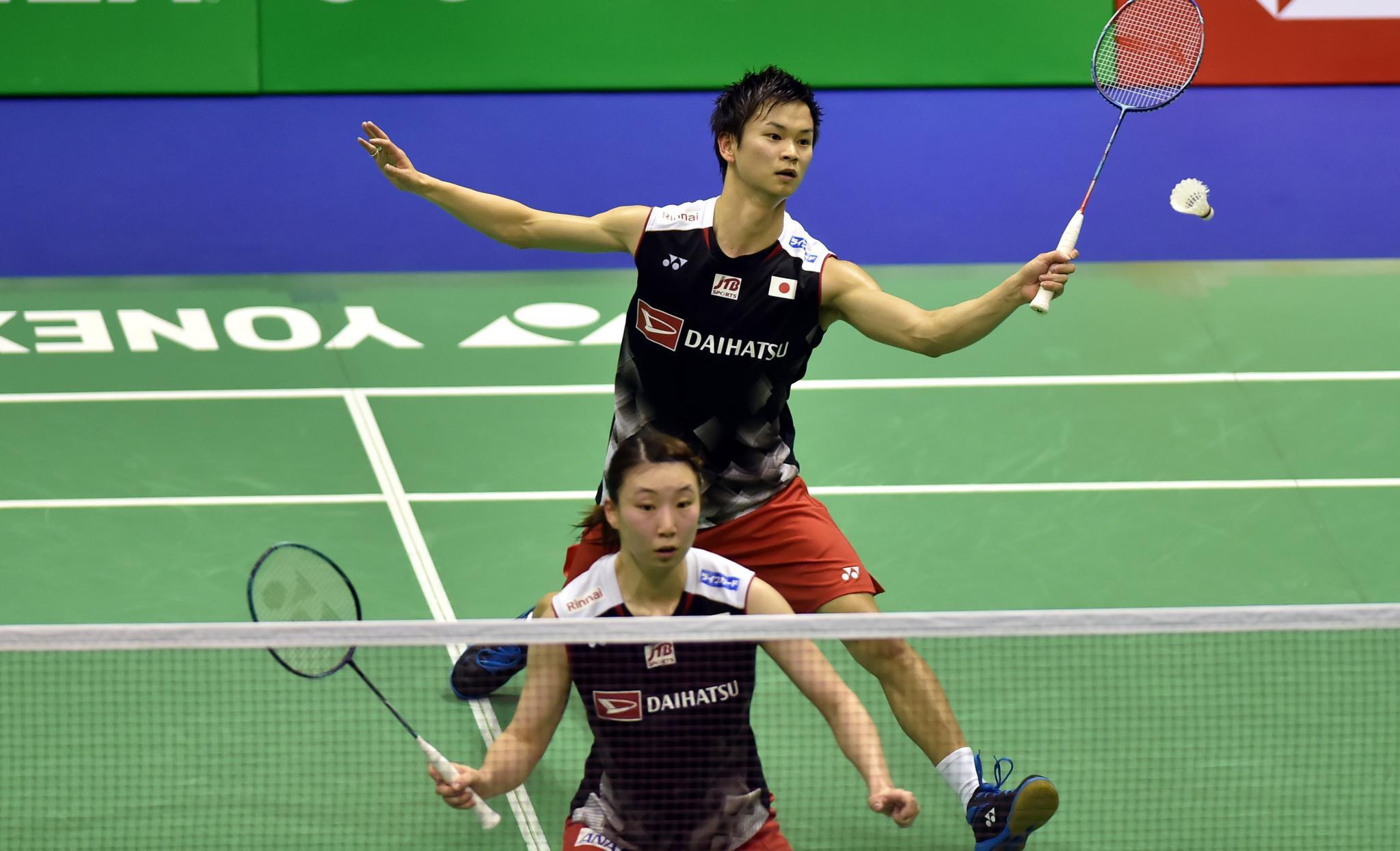 羽毛球——香港公开赛:何济霆/杜玥获得混双亚军