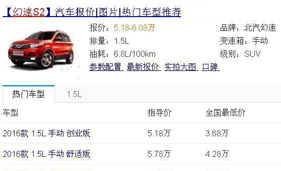 农民工买车就选它,比宝骏510还大一圈,仅3.68万还是后驱