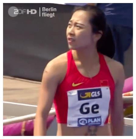 中国短跑女神甜美诱人,在比赛中竟跑出100米最佳成绩!