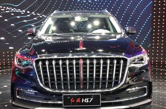红旗HS7,成为热销车的潜质汽车,霸气侧漏!