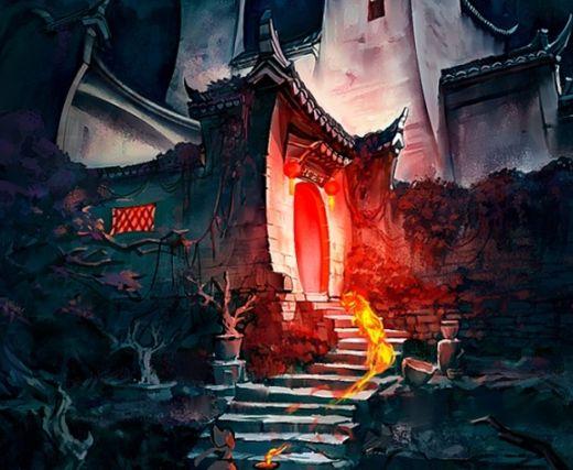 古风:一组古风韵味十足的东方游戏场景分享