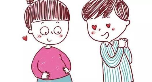 上怀顶胃下怀顶膀胱,同是怀孕,孕肚的形态却也不同…