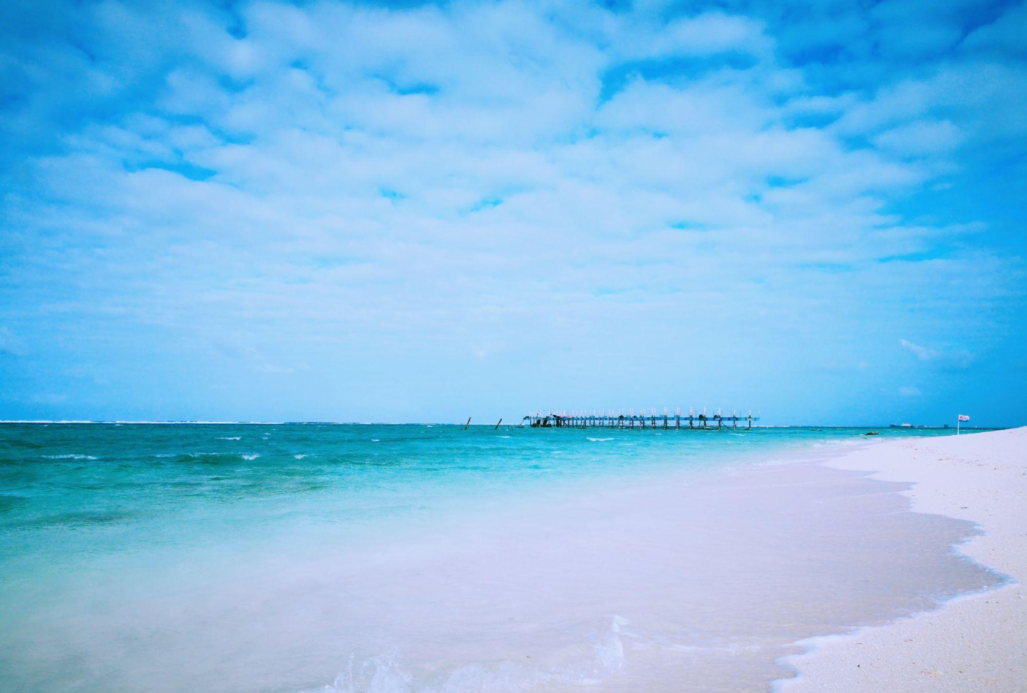 西沙群岛之全富岛美景
