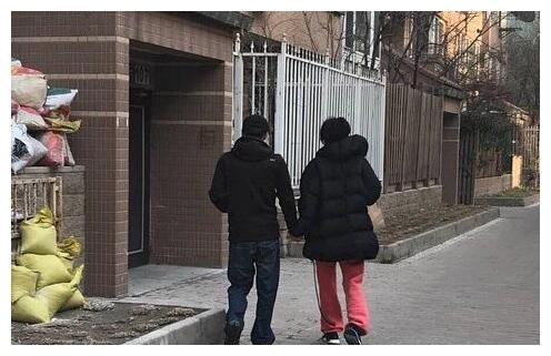 王菲谢霆锋散步,十指紧扣秀恩爱如老夫老妻,谢霆锋身高成焦点