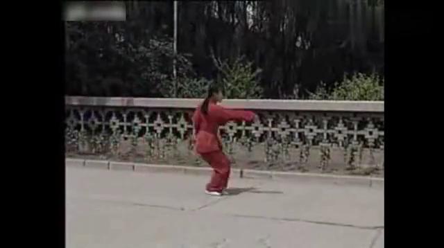 太谷形意女侠张玉萍演练的综合形意拳