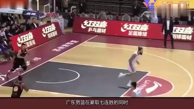 纪录三连破广东男篮创队史新纪录郭艾伦和王哲林也再创新高