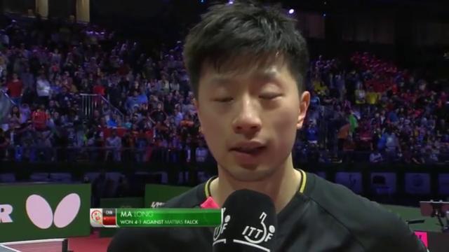 马龙缔造世乒赛三连冠:每一分都很重要,今天更代表球队和中国!