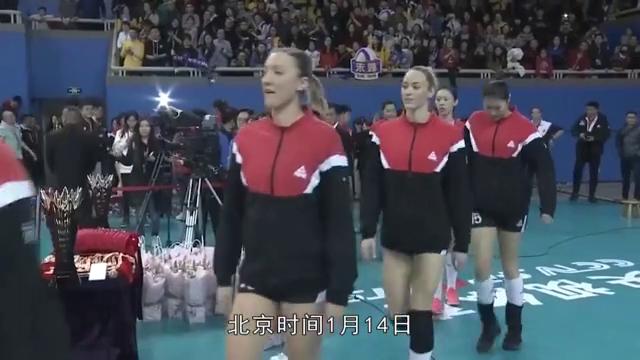 排超联赛:天津女排3比1击败上海女排,总比分3比0完胜夺冠