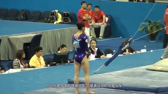 中国体操公主何可欣退役去了哪里?颜值爆表却单身,本人霸气回应