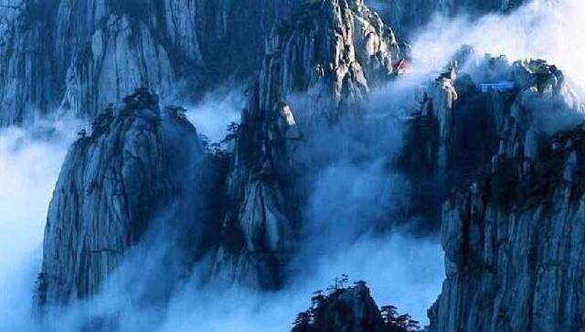 游记走马观花看黄山,黄山归来不看岳