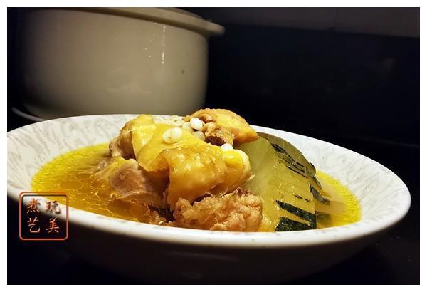 吃一口会感到幸福飞起来的冬瓜薏米石门鸡