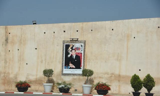 四大皇城之一摩洛哥王国梅克内斯的国王行宫