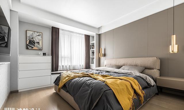 卧室空间大,教你几招打造多功能区,实用方便!还不浪费空间