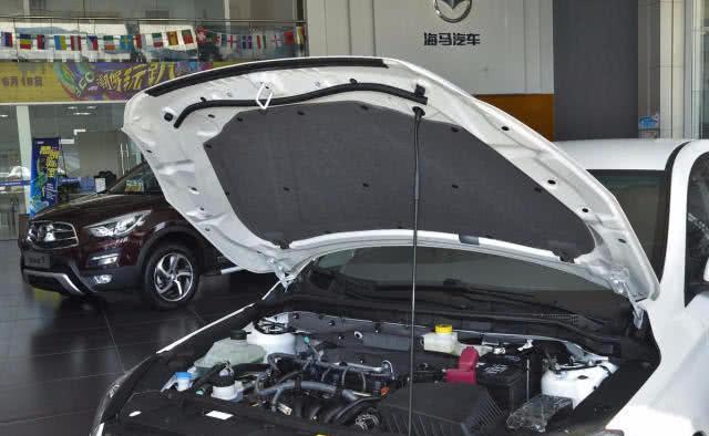 有着海马汽车史上最强运动底盘,外观大气时尚,运动气息十足
