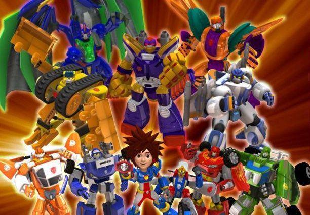 洛洛历险记:盘点五大帅气机器人,谁将帅到最后?