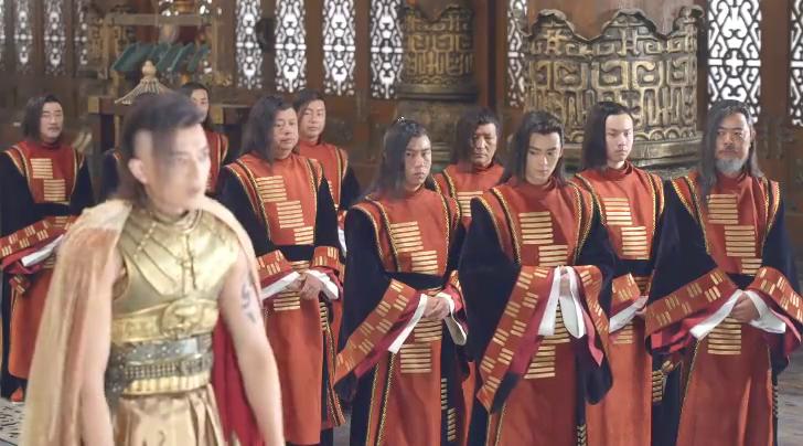 皇子处理政事全无主见,就在此时,美丽的王姬站出来为他说话