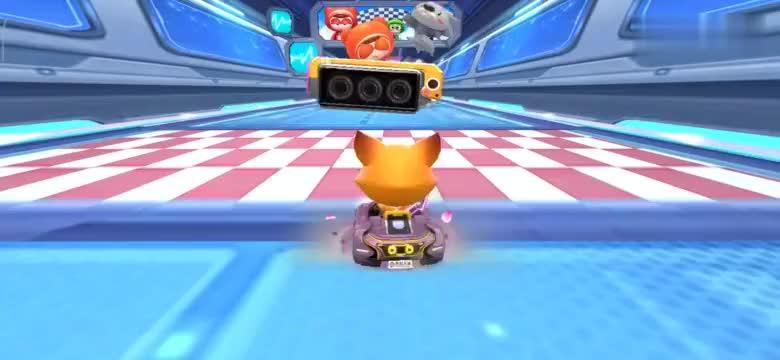 跑跑卡丁车手游有多少玩家的L1驾照死在这个位置…举个爪!