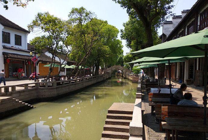 上海青浦的练塘古镇,未加修饰的原生态古镇。不要门票
