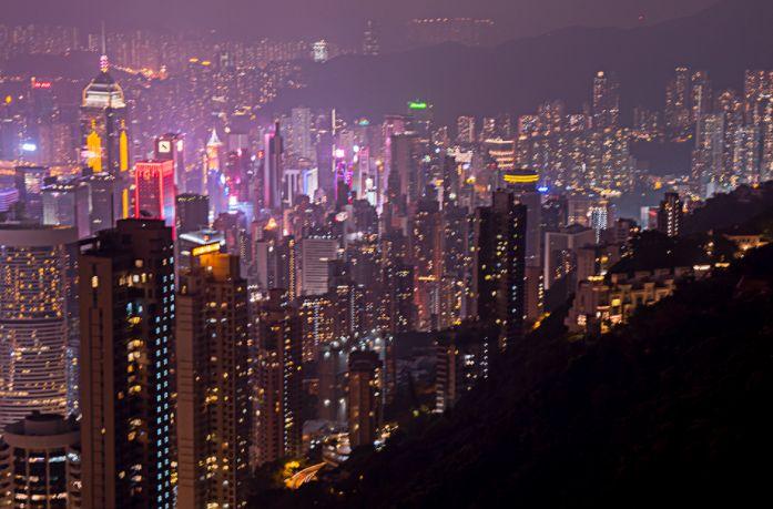 香江幻彩夜未眠:记香港夜景,值得收藏哦!