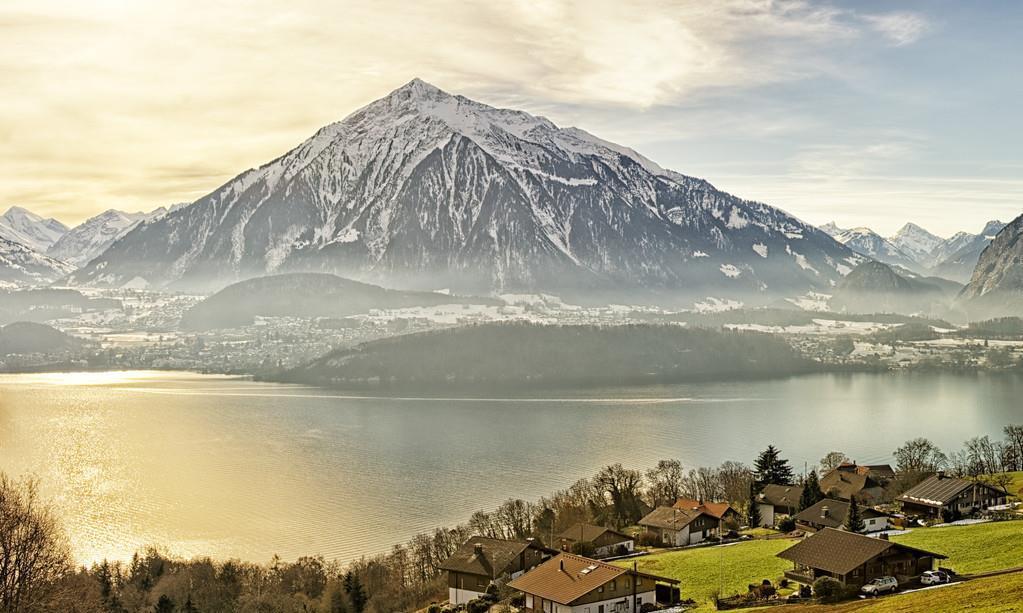 瑞士,山国也有碧水情,造物主的杰作之地之一