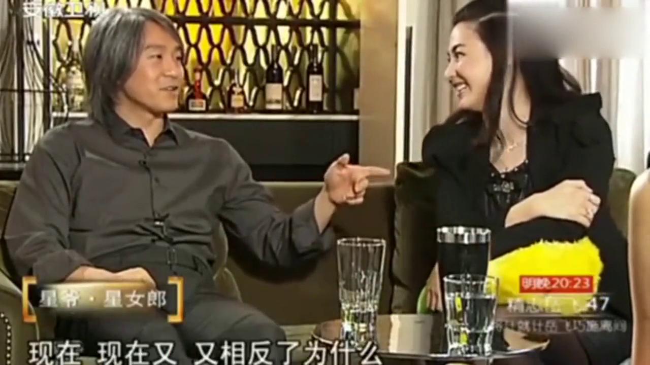 鲁豫有约:张柏芝讲述星爷第一次找她拍喜剧之王情形,太逗了