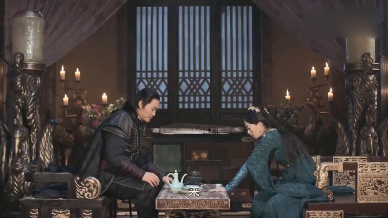 将夜   李渔公主心情不好借酒消愁,华山岳在旁边候着!
