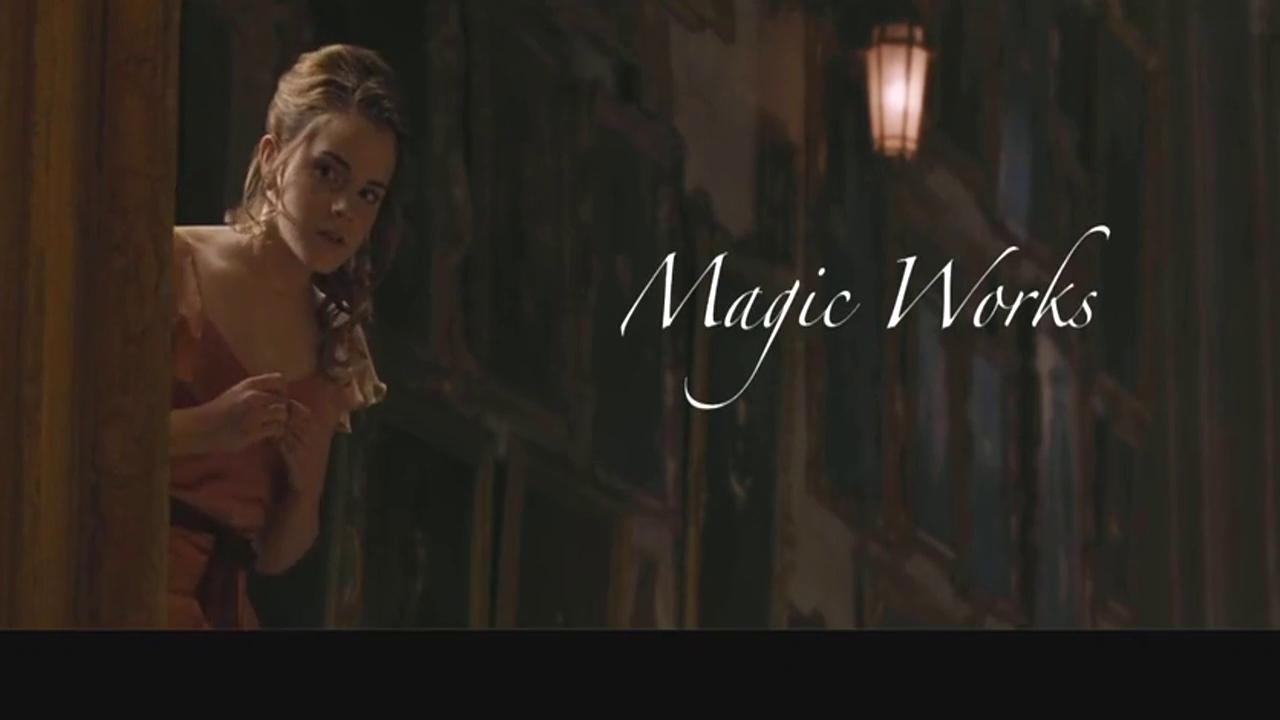哈利波特之罗恩与赫敏  充满魔幻的冒险让他们最终走到了一起