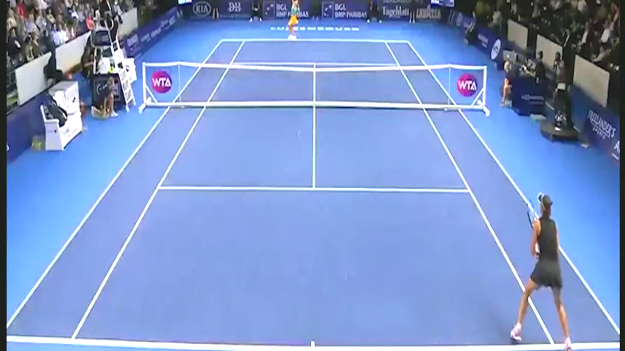 WTA卢森堡站 穆古拉扎不敌乌克兰小将止步女单次轮
