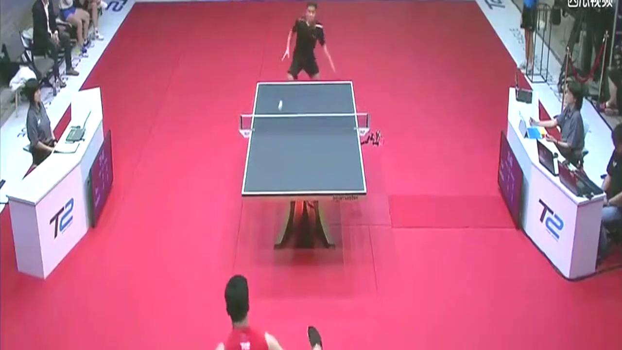 视觉盛宴!不死削神朱世赫,再现乒坛演绎削球的艺术!