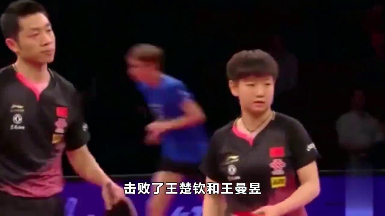 许昕太严厉!夺冠后批评孙颖莎,小魔王挨训像小学生