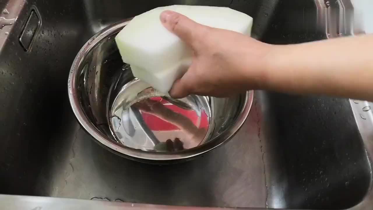 上海妈妈教你做家常烧冬瓜色泽金黄入口爽滑拌饭最美味