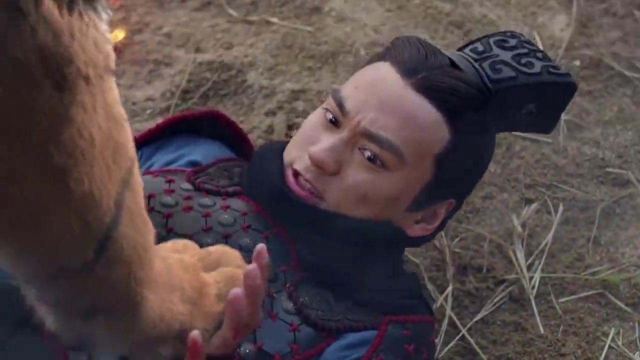 莽军用猛兽作战,刘秀被猛虎围困,幸好丽华赶来助他一臂之力