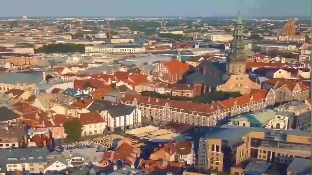 拉脱维亚波罗的海一道舒适优雅的风景线