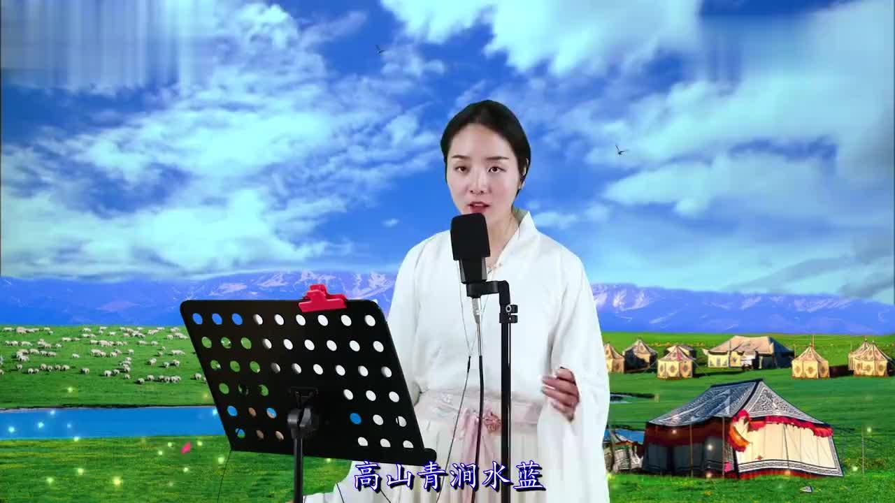 姑娘一首高山青唱出宝岛台湾的山美水美和人美真好听