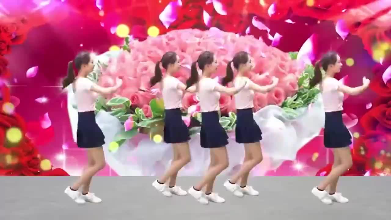 广场舞《中国范儿》旋律动感十足动作优美好看