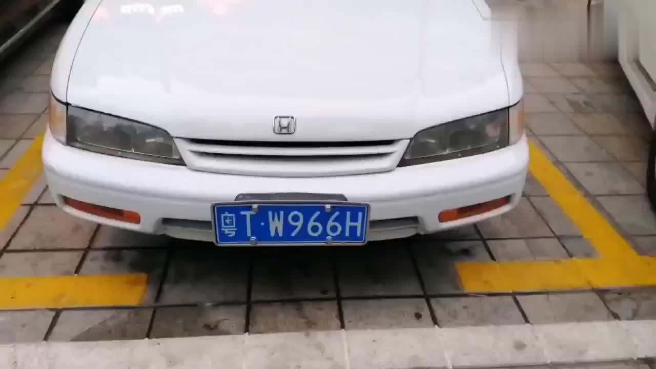 广东二手车1995年的本田雅阁当年拥有这些配置太牛逼了
