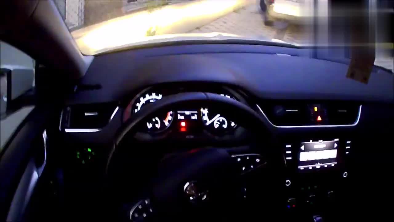 视频:斯柯达明锐外国版欣赏这车子实在太漂亮了