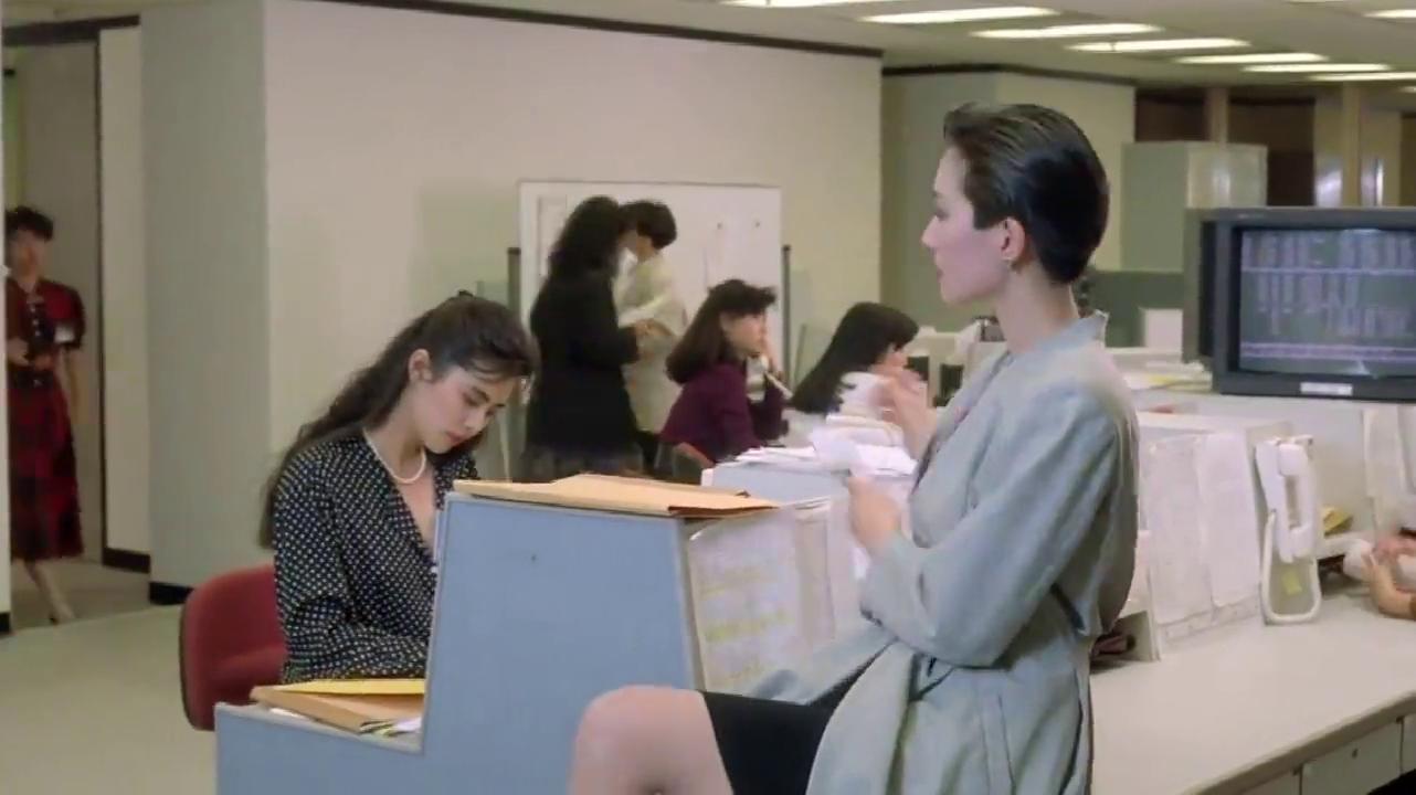 打工狂想曲:女上司欺负王祖贤,不想加班把工作推给别人做