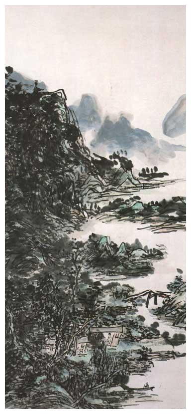 """吴冠中:黄宾虹有本""""画语录"""",他谈的很可笑"""