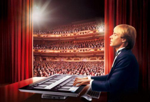 """""""钢琴王子""""克莱德曼与""""钢琴家""""郎朗的故事"""