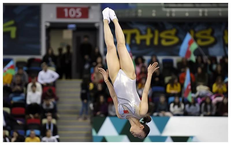朱雪莹获2020年蹦床世界杯系列赛巴库站女子网上个人冠军