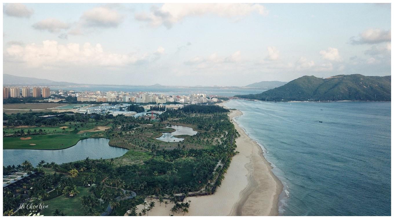 海南不止有三亚,还有陵水,蓝湾绿城威斯汀,180度眺望中国南海