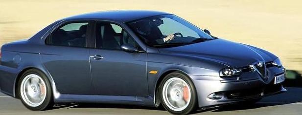 阿尔法罗密欧156 GTA,赛道基因,非常少见