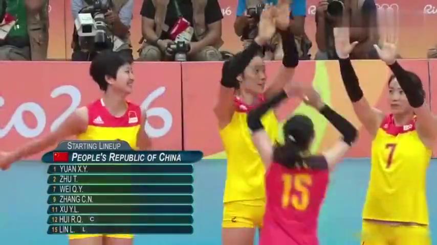 荡气回肠!中国女排3比1逆转塞尔维亚里约夺冠,中国女排重回巅峰
