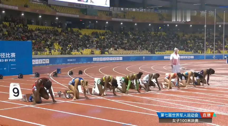 遗憾被绝杀!葛曼棋雨天作战跑出11秒42获得世界军运会百米第四