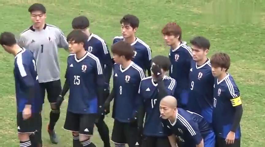 这是日本大学生的足球比赛,看看日本人的足球水平怎么样?